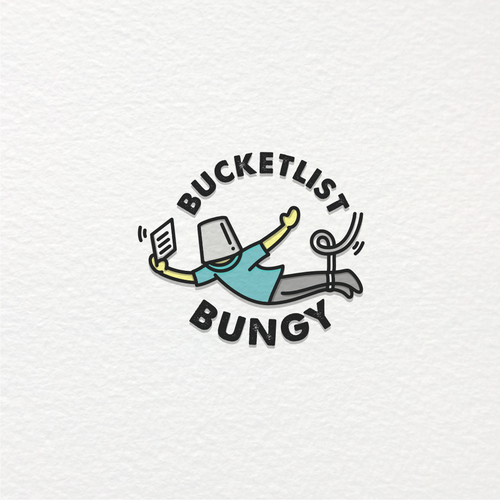 Blogging logo with the title 'BUCKETLIST BUNGY'