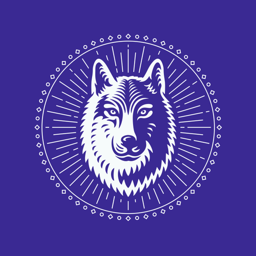 Mystic design with the title 'Mystic Wolf'