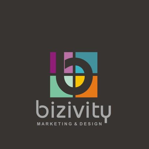 Kaleidoscope logo with the title 'Bizivity'