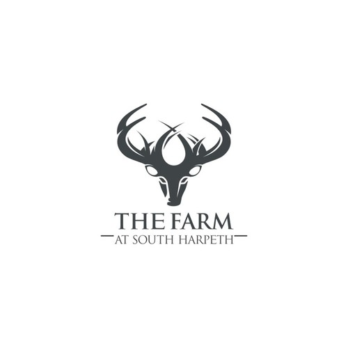 Grass logo with the title 'the farm at south harpeth'