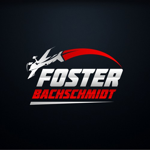 Airline and flight logo with the title 'Logo for Foster Bachschmidt'