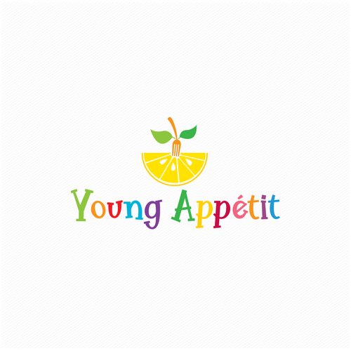 Recipe design with the title 'Young Appetit'