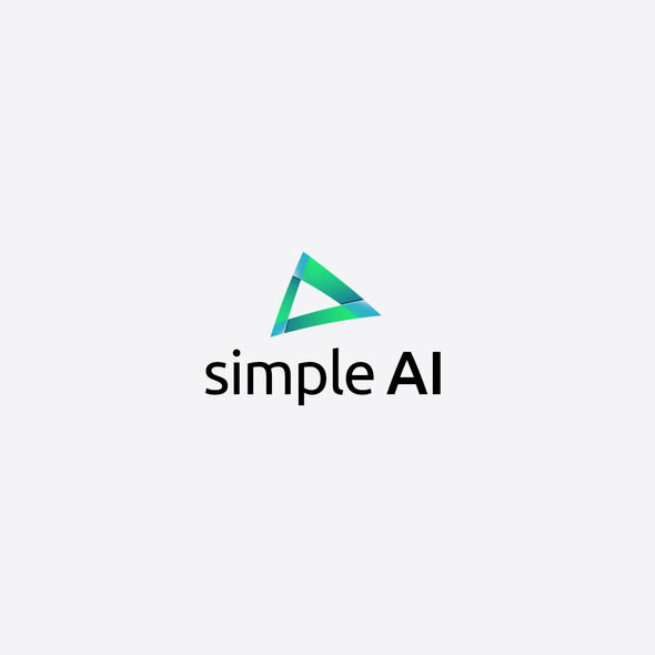 Brochure logo with the title 'Modern logo for analytics company'