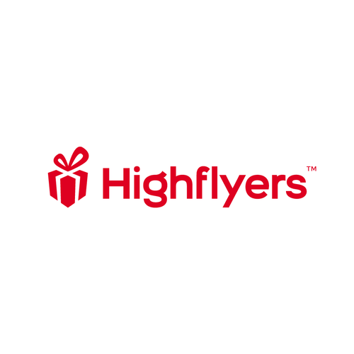 Ecommerce logo with the title 'Logo for HIGHFLYERS'