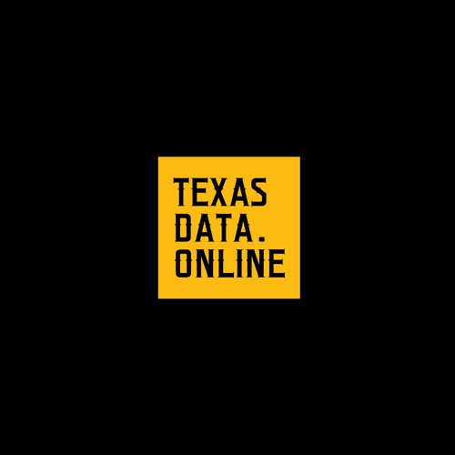 Gas design with the title 'Texas Data.Online'