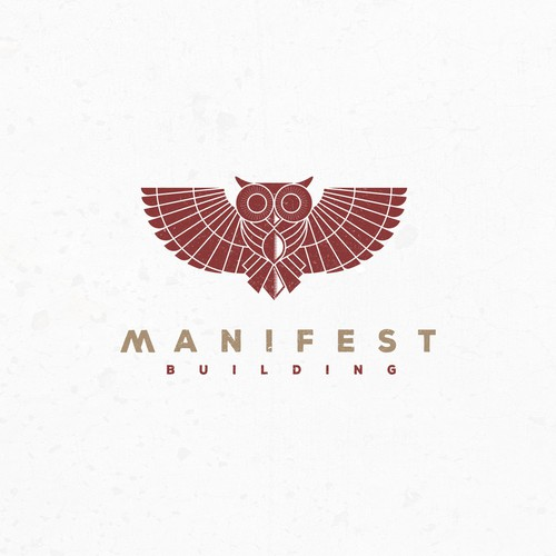 Sophisticated design with the title 'Manifest Building'