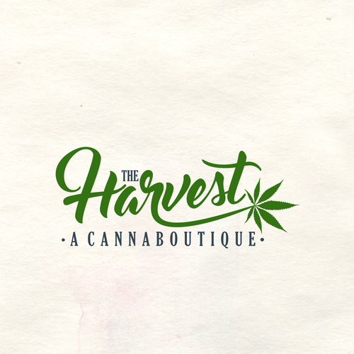Script brand with the title 'Cannaboutique logo'