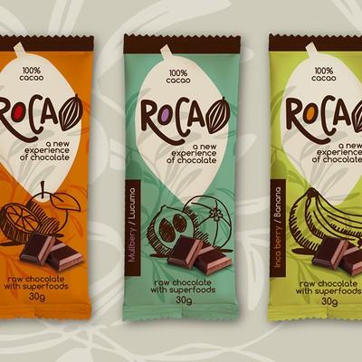 """包装""""巧克力新体验""""(创新生巧克力与超级食品)"""