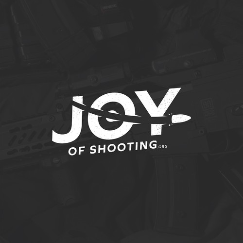 Bullet design with the title 'Joy of Shooting'