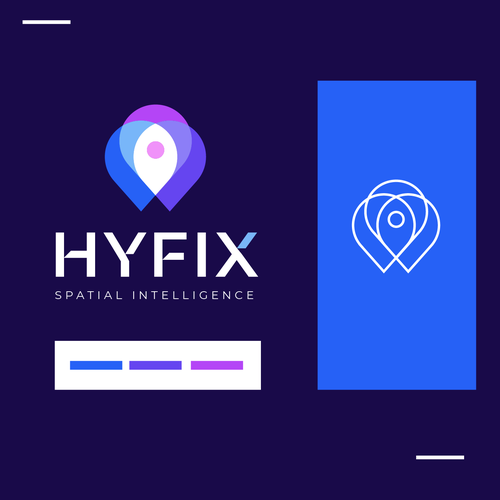 Location design with the title 'Hyfix'