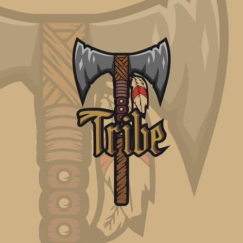 Savage design with the title 'Savage logo for Tribe'