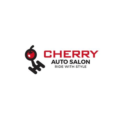 Auto design with the title 'Cherry Auto'