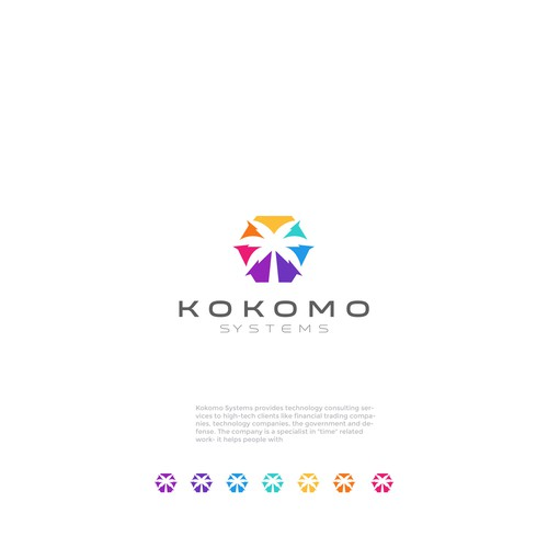 Computer brand with the title 'KOKOMO SYSTEMS'
