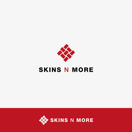 Cloth logo with the title 'Skin & More'