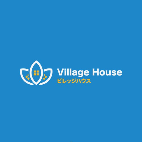 Village design with the title 'Village House'