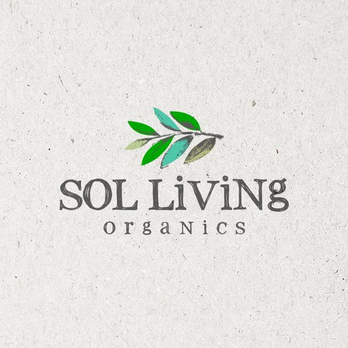 Health logo with the title 'Logo for a Premium Organic Food and Personal Care Brand'