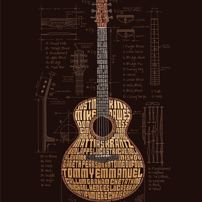 Guitar Typography