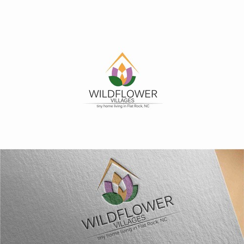 Residential brand with the title 'Logo for a residential development company'