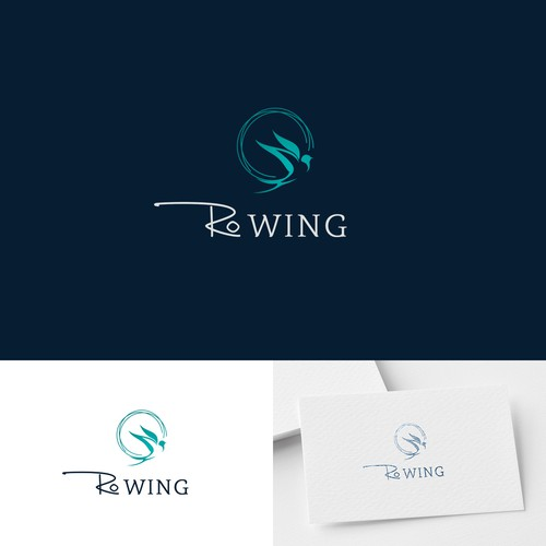 Swallow logo with the title 'Design a strong logo for a translation company'