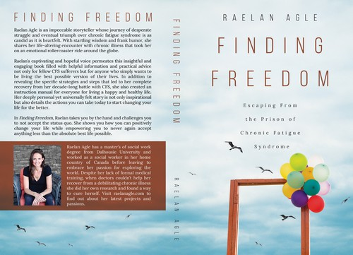 Simple book cover with the title 'Finding Freedom'