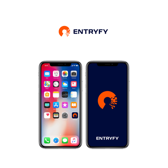 Access design with the title 'Logo for ENTRYFY'