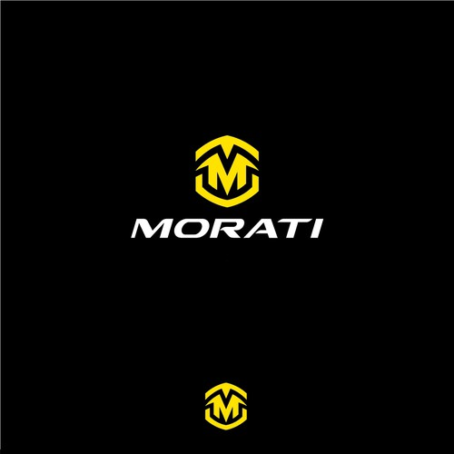 Bike logo with the title 'MORATI bicycle'