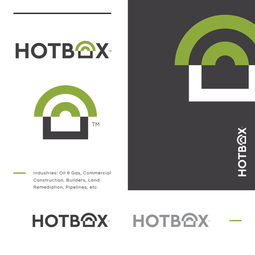 Commercial design with the title 'HotBox'