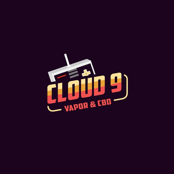 Play brand with the title 'Cloud 9 - T Shirt Design'