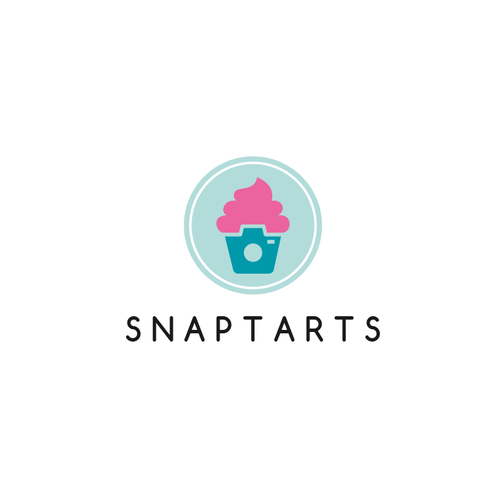 Cupcake logo with the title 'Snaptarts'