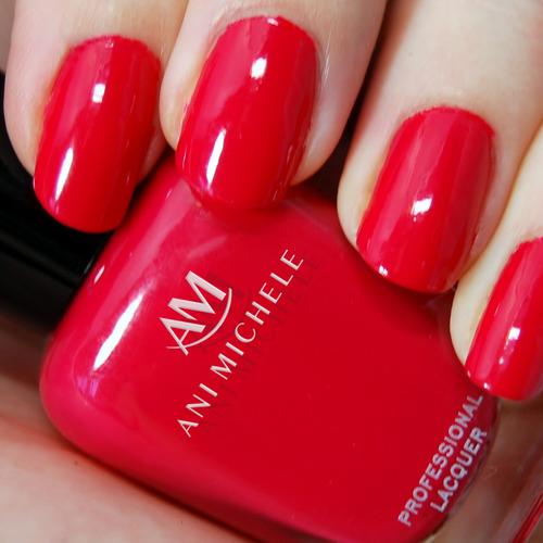 Nail polish design with the title 'Nail-polish Logo '