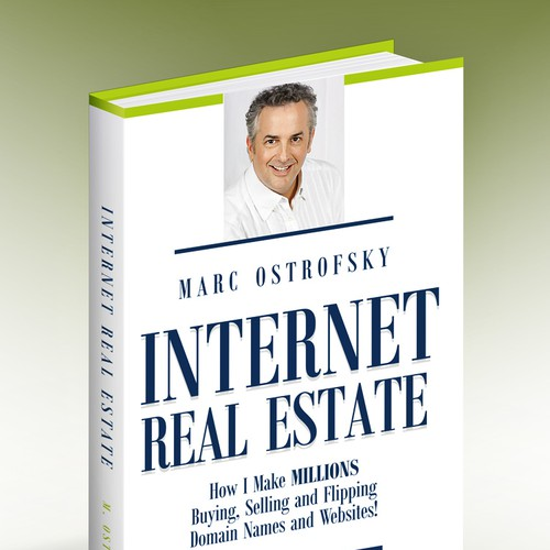 Real estate book cover with the title 'Book Cover'