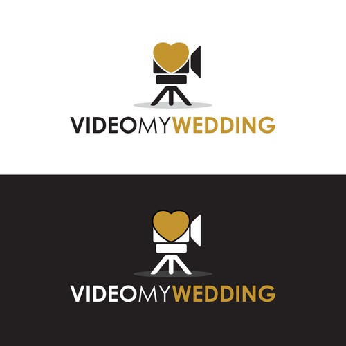 Bridal logo with the title 'Wedding Video'