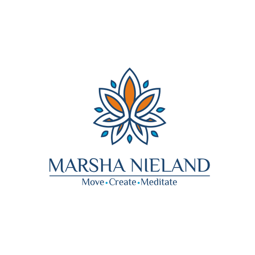 Peaceful logo with the title 'Marsha Nieland Logo'