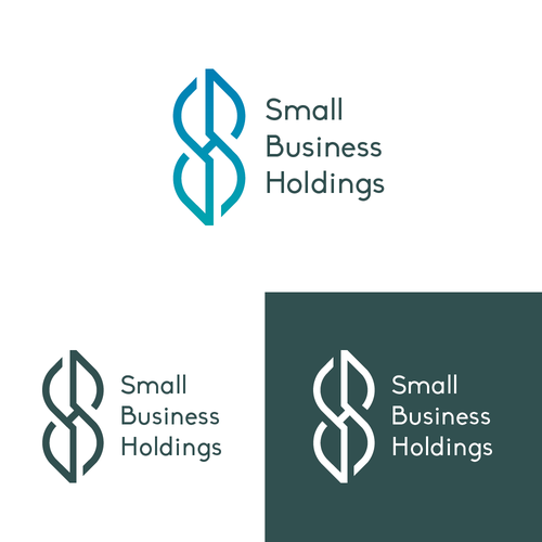 Financial holding logo with the title 'SBH Logo Concept'