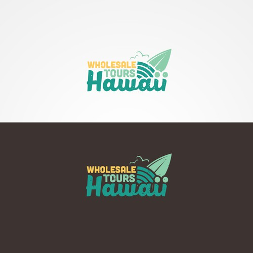 Recreation logo with the title 'Company that does tours in Hawaii'