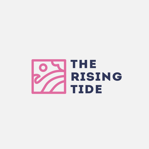 View logo with the title 'The Rising Tide'