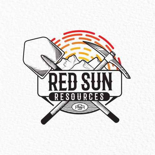 Geology logo with the title 'Logo design contest entry'