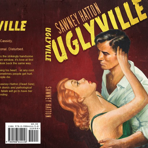 Vintage book cover with the title 'Uglyville'