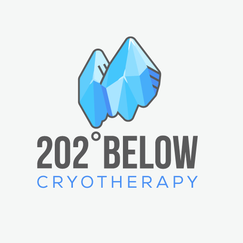 Cold logo with the title 'Logo Concept for Cryotherapy'