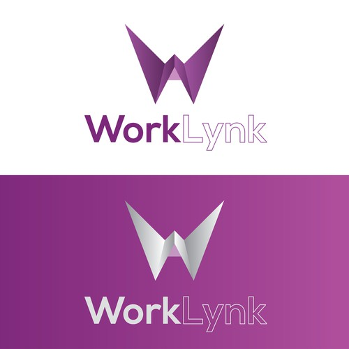 2D logo with the title 'Logo for WorkLynk'
