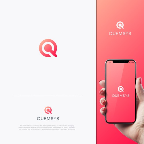 Speaker design with the title 'Quemsys'