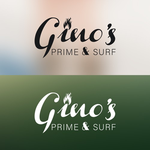Seafood brand with the title 'Restaurant Logo Design'