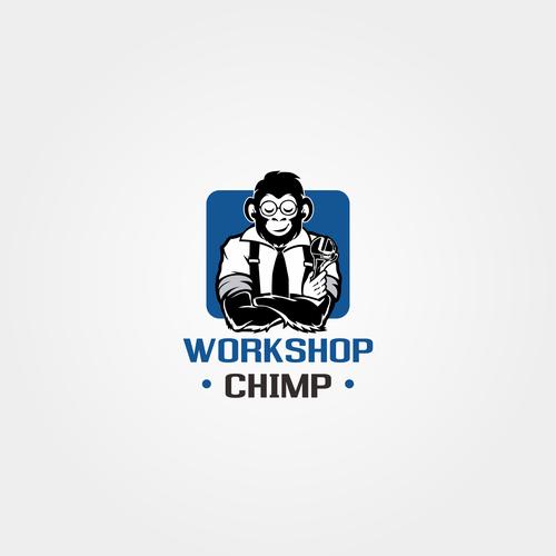 Civil design with the title 'chimp logo'