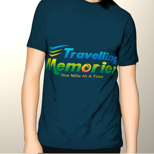 Presentation logo with the title 'Create the next logo for Travelling Memories'
