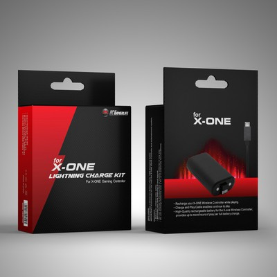 cutting edge design for Gamerlife packaging design