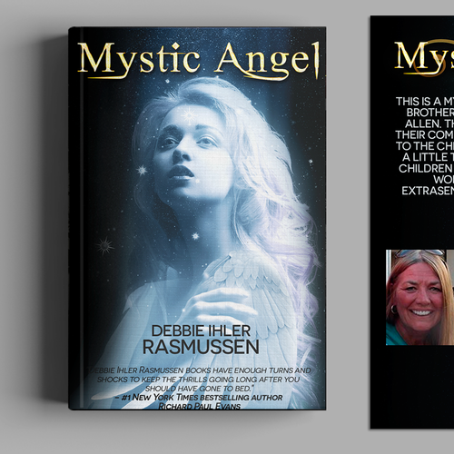 Paranormal romance book cover with the title 'Book Cover Design'