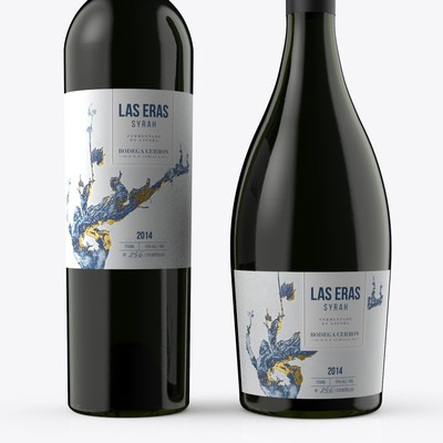 Organic Exclusive Wine Label Design
