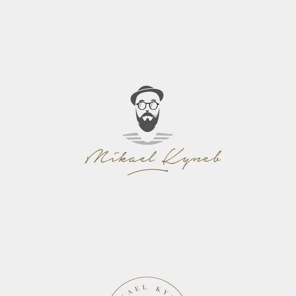 Personal brand with the title 'Mikael Kyneb'