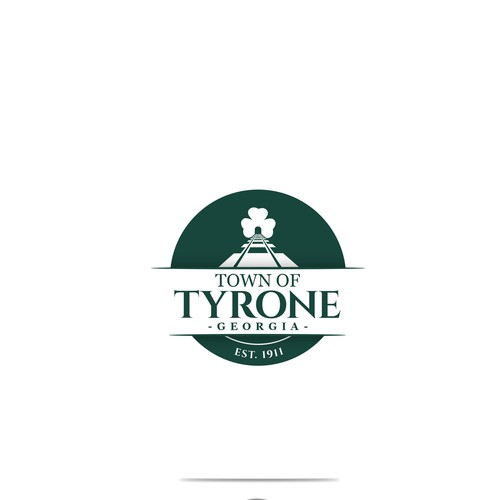 Politics logo with the title 'Logo design for the town of Tyrone'