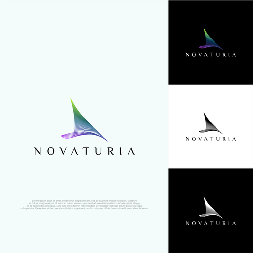 Geology logo with the title 'abstract concept for Novaturia'